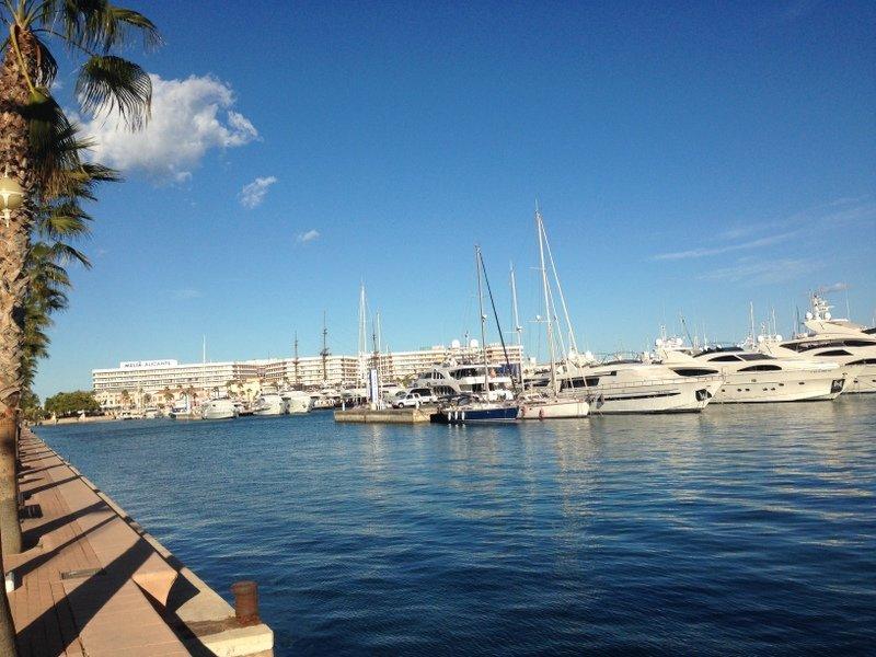 Alicante,Spain-Marina