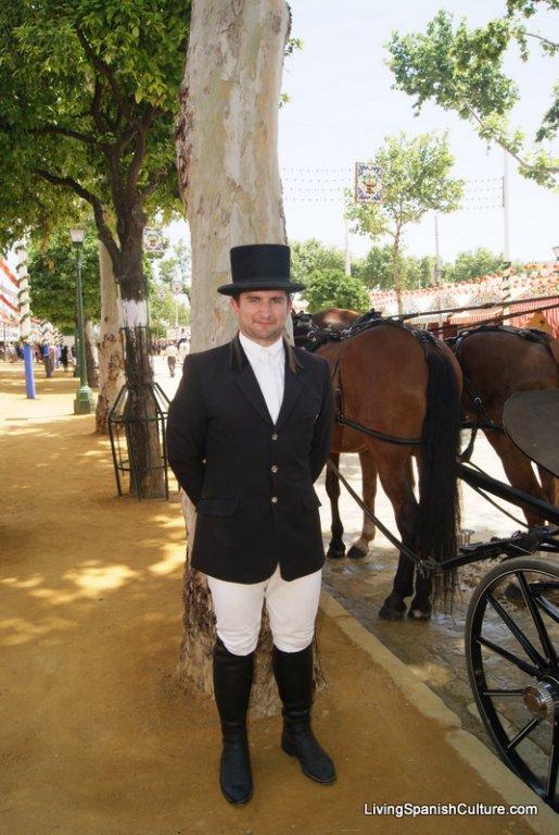 Feria de Sevilla,España,Espagne,Cocheros (1)