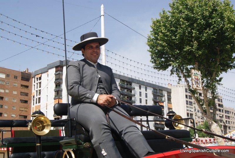 Feria de Sevilla,España,Espagne,Cocheros (3)