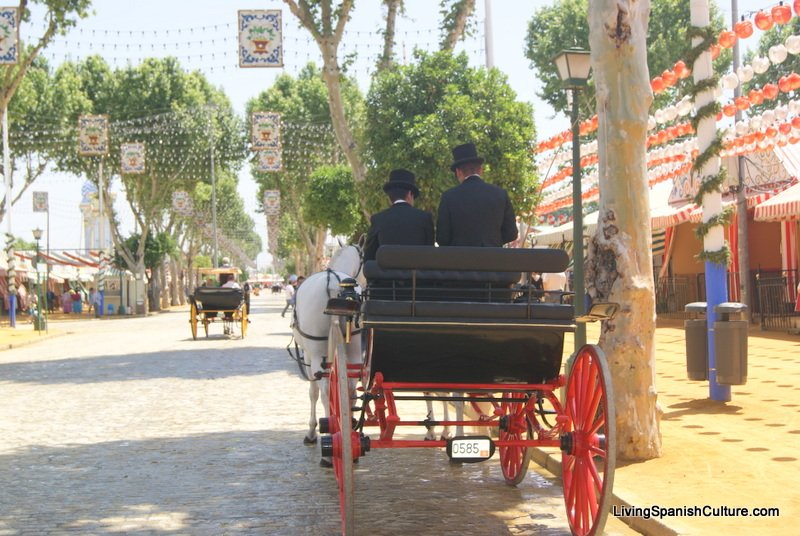 Feria de Sevilla,Spain,Espagne,carriages,voitures (4)