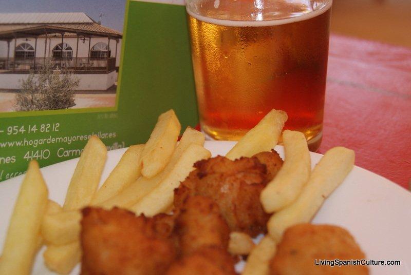 Feria de Sevilla,Spain,Espagne,typical dishes (6)