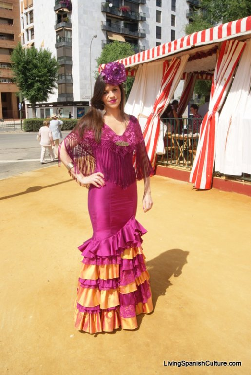 Feria de Sevilla,Spain,Espagne,typical dress,vêtements (6)
