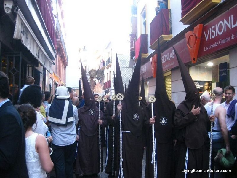 Holly Week,Seville,Spain,uniforms and music groups (1)
