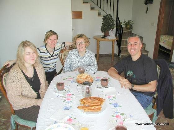 Homestay in Spain