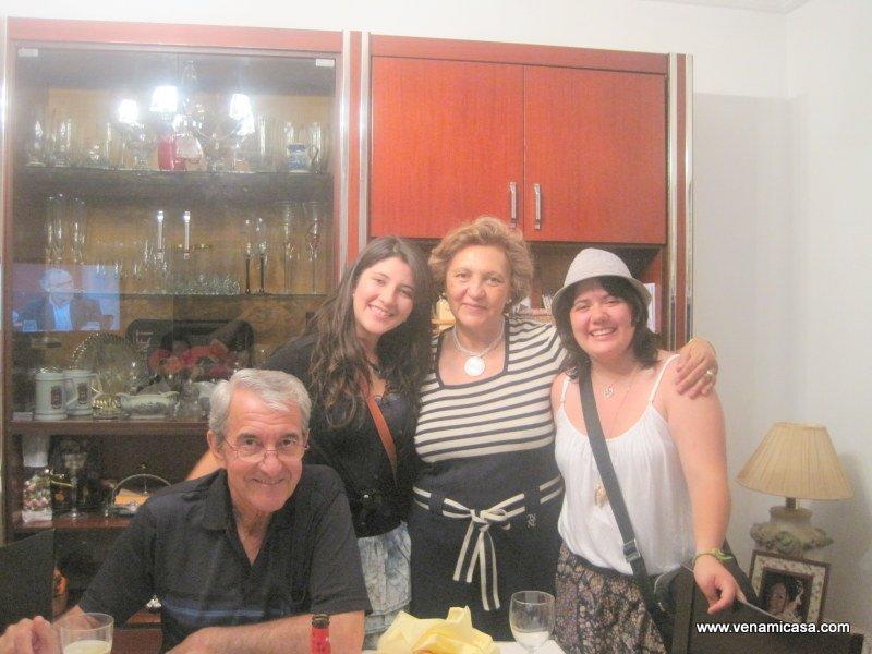 At Marta Derra's home