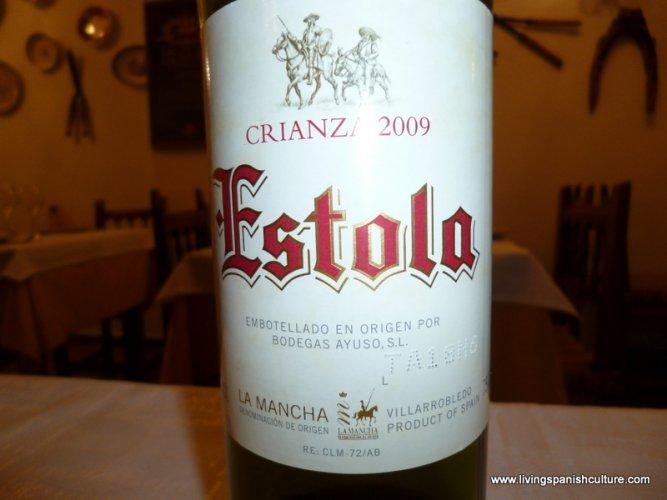 Wine from La Mancha