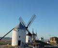 Consuegra. Windmills & city (2)