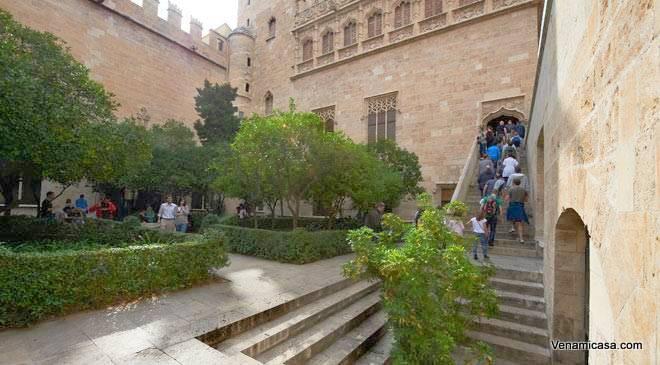La Lonja De La Seda En Valencia (The Silk Exchange) Is A Propierty Inscribed ...