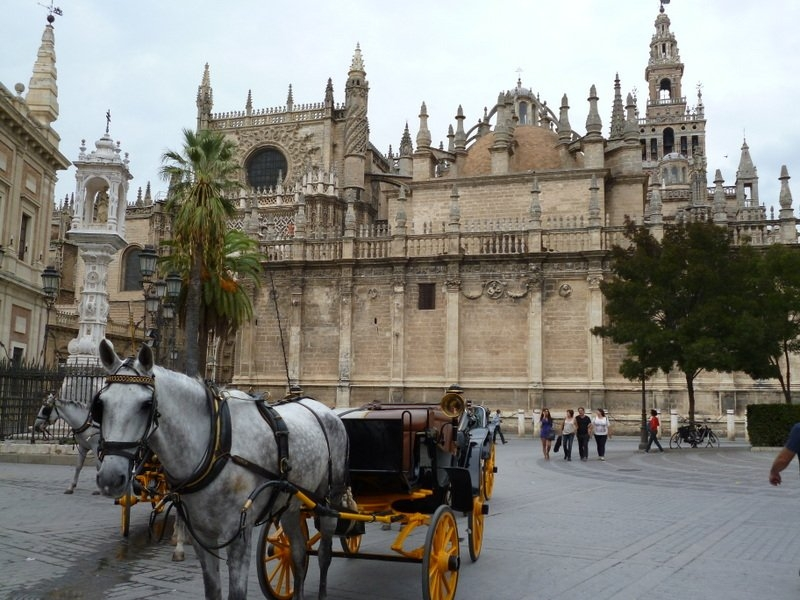 Cathedral and Giralda, Sevilla