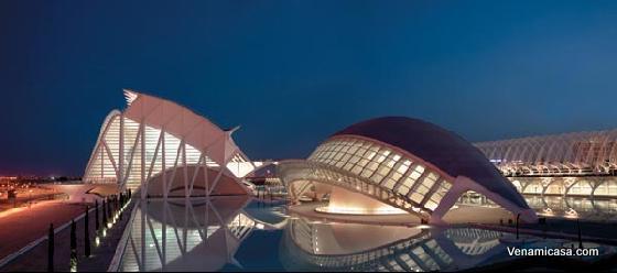 city-arts-and-sciences-night