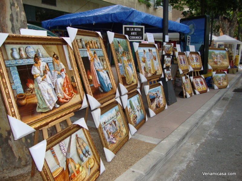 Craft Fair in Xativa