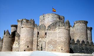Belmonte's Castle in Cuenca Province