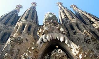 Barcelona. Sagrada Familia. Unesco World Heritage