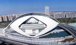 Valencia. Opera Palace. Les Arts