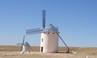 Wind Mills at Campo de Criptana. Castilla-La Mancha