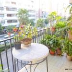 Homestay Valencia, Spain, P i Valero, balcony