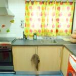 Homestay Valencia, Spain, P. Aleixandre, kitchen