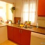 Homestay Valencia, Spain, P. Rico, kitchen 1