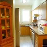 Homestay Valencia, Spain, P. Rico, kitchen
