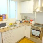 Homestay Valencia, Spain, Pl. Andujar, kitchen