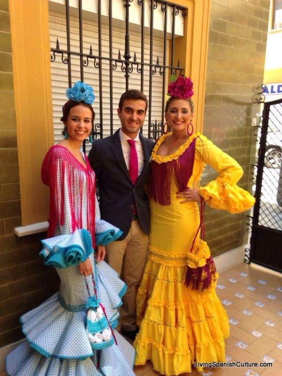 Feria de Sevilla,Spain,Espagne,typical dress,vêtements (2)