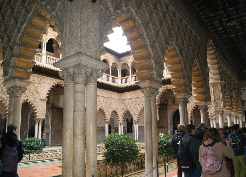 El Alcazar, Sevilla