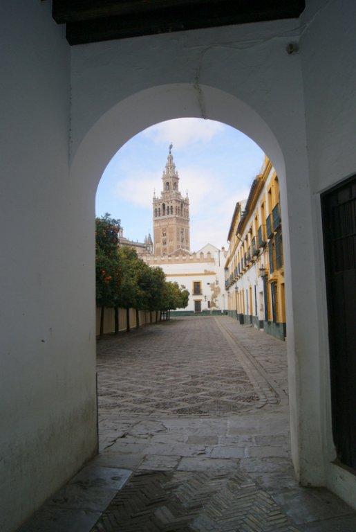 Patio de bandera, Sevilla