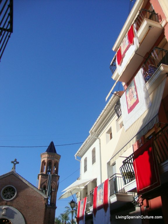 Streets in Algemesi