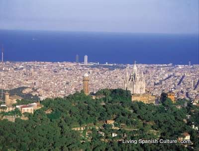 BCN from Tibidabo