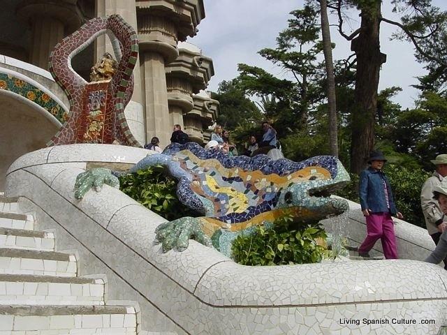 dragon park guell