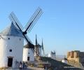 Consuegra. Windmills & city (1)