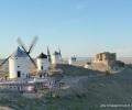 Consuegra. Windmills & city (3)